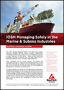IOSH Managing Safely in the Marine & Subsea Industries
