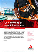 IOSH Working at Height Awareness