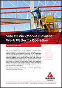 Safe MEWP (Mobile Elevated Work Platform) Operation