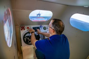 Simulator Coxswain Training